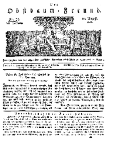Der Obstbaumfreund, Jg.VII, 10. August 1834, No 32.