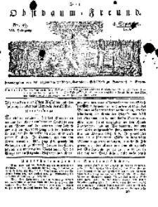 Der Obstbaumfreund, Jg.VII, 8. September 1834, No 36.