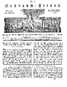 Der Obstbaumfreund, Jg.VII, 15. September 1834, No 37.