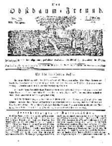 Der Obstbaumfreund, Jg.VII, 6. October 1834, No 40.