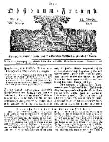 Der Obstbaumfreund, Jg.VII, 13. October 1834, No 41.