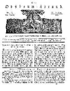 Der Obstbaumfreund, Jg.VII, 20. October 1834, No 42.