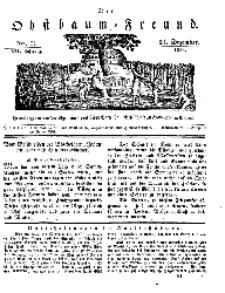 Der Obstbaumfreund, Jg.VII, 24. Dezember 1834, No 51.