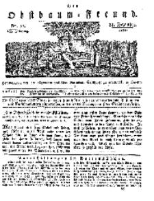 Der Obstbaumfreund, Jg.VII, 31. Dezember 1834, No 52.