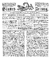 Blumen-Zeitung, Jg. VI, Januar 1833, No 2.