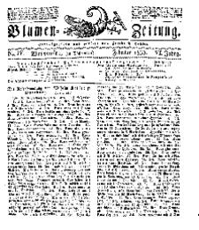 Blumen-Zeitung, Jg. VI, Februar 1833, No 4.