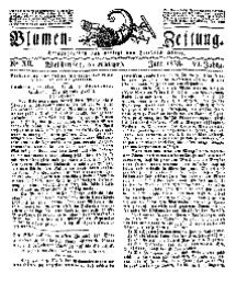 Blumen-Zeitung, Jg. VI, Juni 1833, No 12.