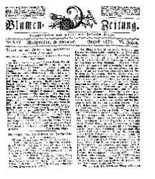 Blumen-Zeitung, Jg. VI, August 1833, No 16.