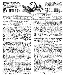Blumen-Zeitung, Jg. VI, August 1833, No 17.
