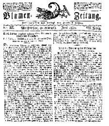 Blumen-Zeitung, Jg. VII, Juni 1834, No 12.