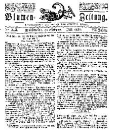 Blumen-Zeitung, Jg. VII, Juli 1834, No 13.