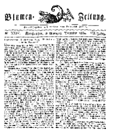 Blumen-Zeitung, Jg. VII, Dezember 1834, No 24.