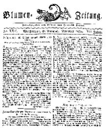 Blumen-Zeitung, Jg. VII, Dezember 1834, No 25.