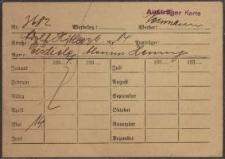Austräger Karte z dnia 14.05.1937 r.