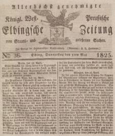 Elbingsche Zeitung, No. 36 Donnerstag, 5 Mai 1825
