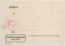 Postkarte: Maggi-Gesellschaft