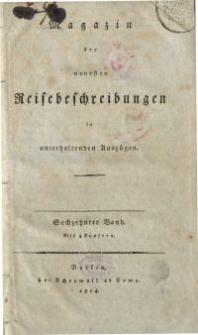 Magazin der neuesten Reisebeschreibungen in unterhaltenden Auszügen, Bd. 16, 1814