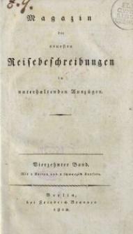 Magazin der neuesten Reisebeschreibungen in unterhaltenden Auszügen, Bd. 14, 1812