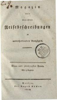 Magazin der neuesten Reisebeschreibungen in unterhaltenden Auszügen, Bd. 29, 1818