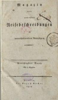 Magazin der neuesten Reisebeschreibungen in unterhaltenden Auszügen, Bd. 30, 1818