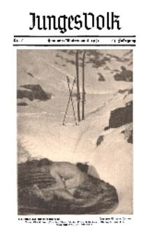 "Die Pflugschar... (Beilage: ""Junges Volk""), 13 Jg. 1931, Nr 1."