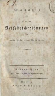 Magazin der neuesten Reisebeschreibungen in unterhaltenden Auszügen, Bd. 9, 1810