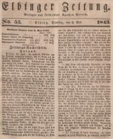 Elbinger Zeitung, No. 55 Dienstag, 9. Mai 1843