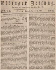 Elbinger Zeitung, No. 57 Sonnabend, 13. Mai 1843