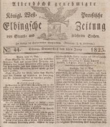 Elbingsche Zeitung, No. 44 Donnerstag, 2 Juni 1825