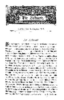 Die Zukunft, 3. August, Bd. 36.