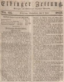 Elbinger Zeitung, No. 66 Sonnabend, 3. Juni 1843
