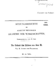 ...1908, XXXII, Gesammtsitzung vom 25. Juni, R. Kekule, Die Geburt der Helena aus dem Ei