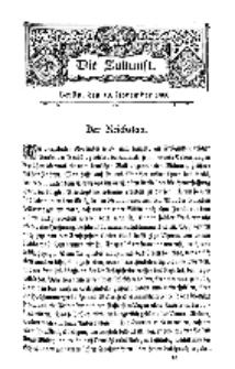 Die Zukunft, 10. November, Bd. 33.