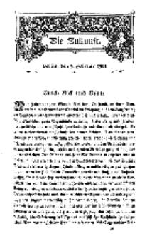 Die Zukunft, 9. Februar, Bd. 34.