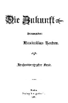 Die Zukunft, 6. April, Bd. 35.