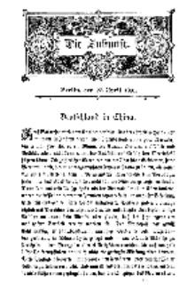 Die Zukunft, 27. April, Bd. 35.