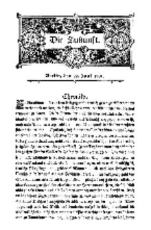 Die Zukunft, 22. Juni, Bd. 35.