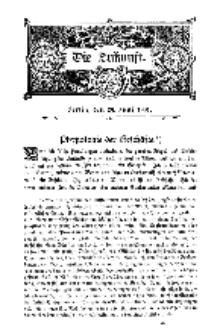 Die Zukunft, 29. Juni, Bd. 35.