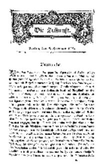 Die Zukunft, 8. Februar, Bd. 38.