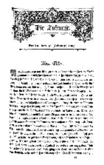 Die Zukunft, 15. Februar, Bd. 38.