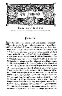 Die Zukunft, 19. April, Bd. 39.