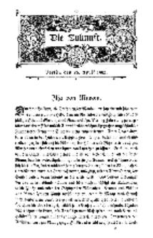 Die Zukunft, 26. April, Bd. 39.