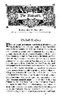 Die Zukunft, 17. Mai, Bd. 39.