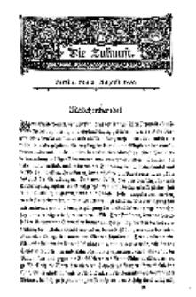 Die Zukunft, 2. August, Bd. 40.