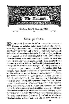 Die Zukunft, 9. August, Bd. 40.