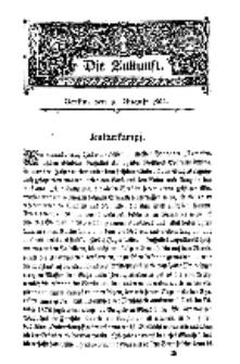 Die Zukunft, 16. August, Bd. 40.