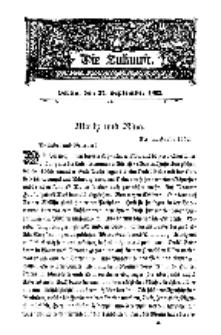 Die Zukunft, 27. September, Bd. 40.