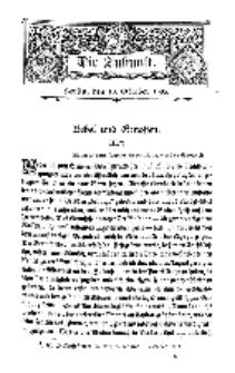 Die Zukunft, 10. October, Bd. 45.