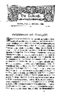 Die Zukunft, 31. October, Bd. 45.