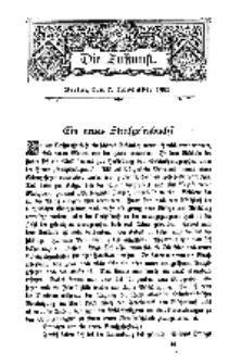 Die Zukunft, 7. November, Bd. 45.